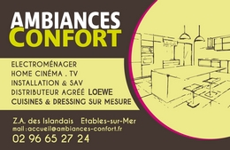 Carte AMBIANCE CONFORT
