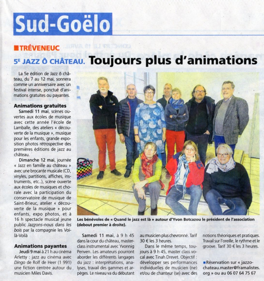 La Presse d'Armor - 17 avril 2019