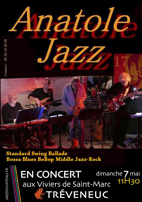 Affiche Anantole Jazz